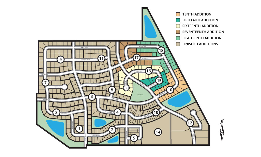 Northridge heights ames ia active developments for Design homes ames iowa